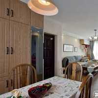 北欧简约家庭用餐桌装修效果图