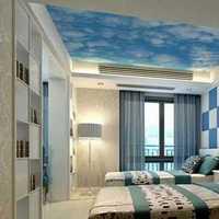 富裕型别墅卧室白色装修效果图
