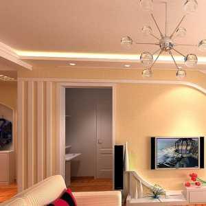 100平米两室装修效果图大全