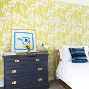 色彩轻布置两居室复式 色彩就要这样大胆玩