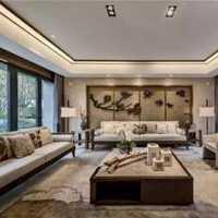 现代皮艺沙发装修效果图