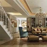 北歐風格公寓白色富裕型90平米效果圖