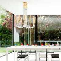 美式现代二居室装修效果图