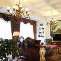 家居摆件客厅背景墙现代装修效果图