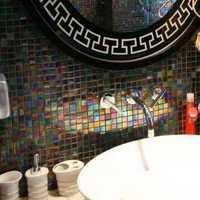 豪華型衛生間別墅洗手臺裝修效果圖