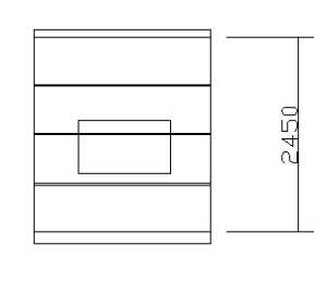 蓝海港湾85平装修效果图