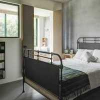 中式风格公寓红色富裕型110平米卧室床效果图