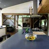 厨房一角中式豪华别墅装修效果图