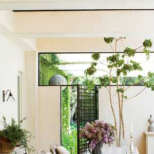 三米混搭風格別墅富裕型客廳窗簾效果圖
