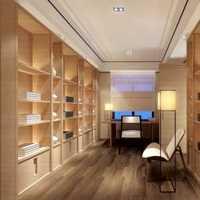 婚房书房80平米简约装修效果图