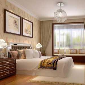 北京臥室床背景墻裝飾