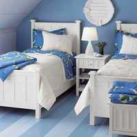 简约清新儿童卧室装修效果图