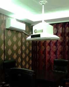 现代室内两居室装修样板间效果图