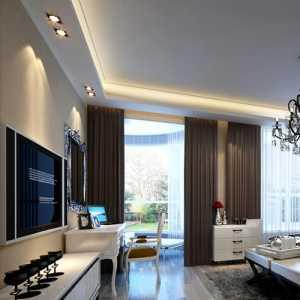 客厅吊电扇灯装修效果图