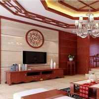 墙面现代简约壁柜客厅装修效果图