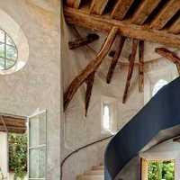 楼梯扶手楼梯实木楼梯现代装修效果图