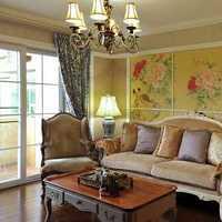 现代别墅红色墙面起居室装修效果图