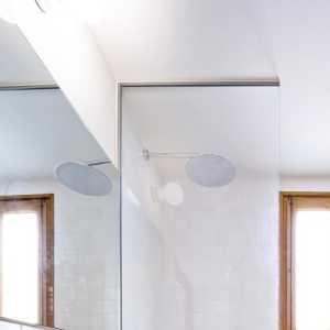 舒适简洁小户型时尚现代简约卫生间清新