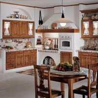 简约日式木质家居厨房装修效果图