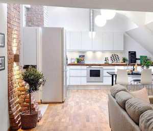 5W打造75平时髦阁楼小公寓