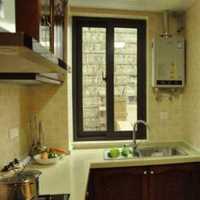 开放式厨房宽敞装修效果图