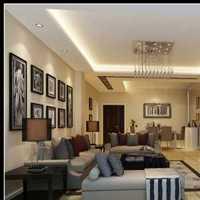 布艺沙发客厅窗帘茶几装修效果图