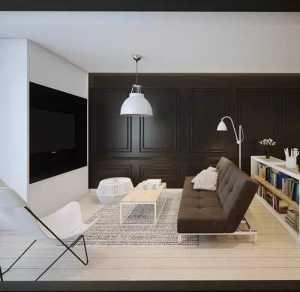 简欧风格复式书房飘窗效果图