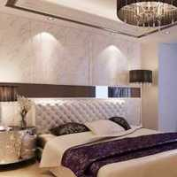 美式小户型三居卧室实景装修效果图