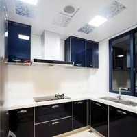 小清新廚房70平米簡歐裝修效果圖
