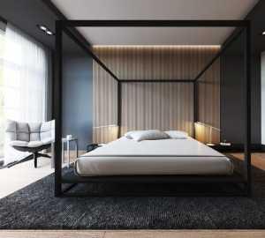 25个漂亮的条形背景墙卧室设计欣赏