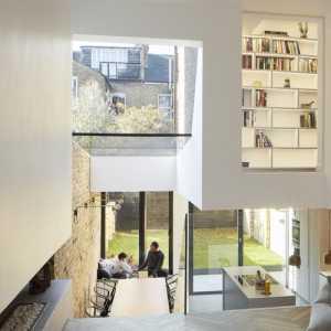 三室一厅现代简约别墅客厅中性色
