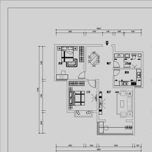 为单位房房型图做的设计