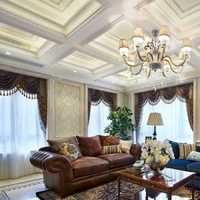 新古典客厅镂空屏风隔断装修效果图