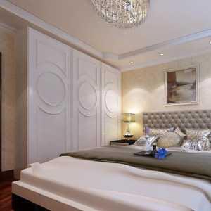 白色床装修效果图