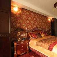 富裕型电视背景墙卧室装修效果图