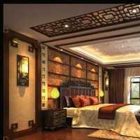 纯中式古朴别墅卧室书桌装修效果图