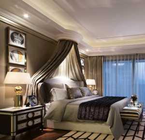 美式卧室背景墙装修效果图大全2021图片大全