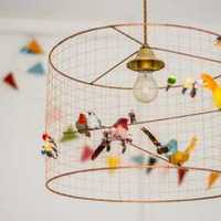 儿童房荧光漆装修效果图