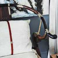 客厅家居摆件沙发简约装修效果图