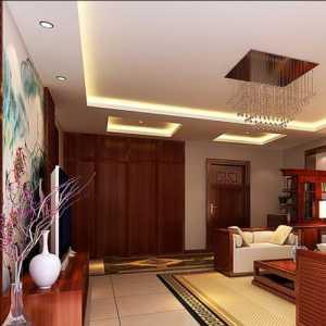 极简日式客厅家具效果图