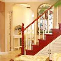 浅咖色光亮光滑楼梯装修效果图