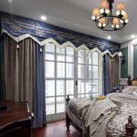 中式豪华别墅卧室背景墙装修效果图