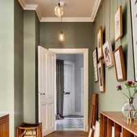 小户型简约风格二居室5-10万80平米灯具效果图