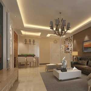 欧式清新暖色调三居室时尚客厅混搭雅致过道照片墙