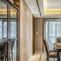 吧台餐厅50平米卧室装修效果图