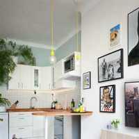 厨房三居室橱柜简约装修效果图