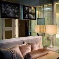 现代地毯卧室柜子现代家具装修效果图