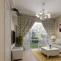 绿色茶几客厅二居装修效果图