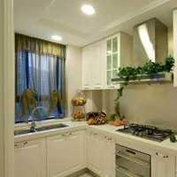 厨房日式木屋别墅橱柜装修效果图