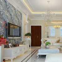 现代客厅沙发壁纸茶几装修效果图